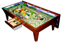 model train coffee table plans